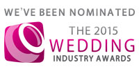 We've been nominated in The Wedding Industry Awards 2015